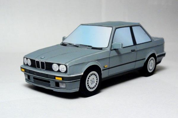 BMW 320i Papercraft