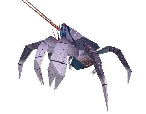 Coconut Crab Papercraft